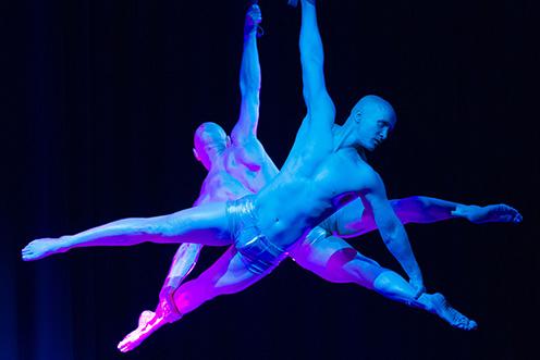 Showact Luft-Akrobatik Duo 07