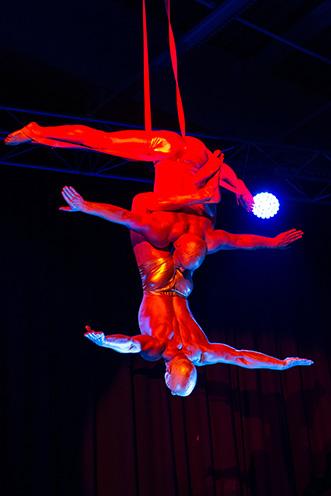 Showact Luft-Akrobatik Duo 02