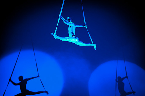 Showact Luft-Akrobatik Solo 01