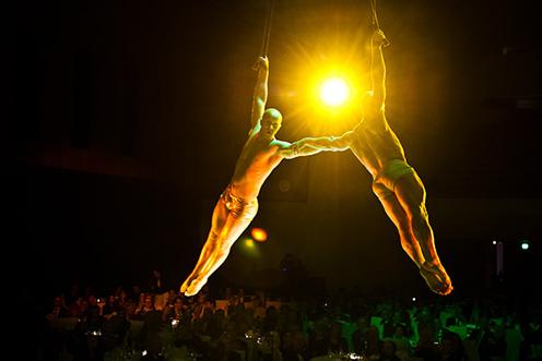 Showact Luft-Akrobatik Duo 08