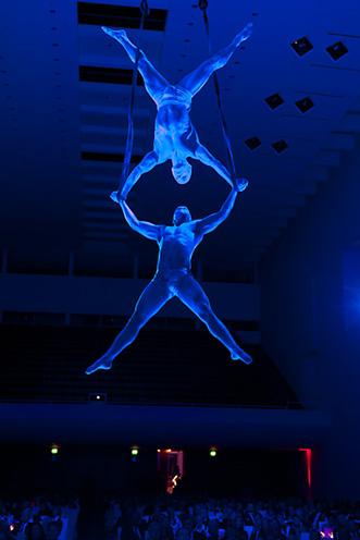 Showact Luft-Akrobatik Duo 04