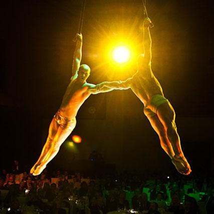 Showact Luft-Akrobatik Duoshow